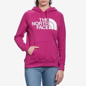 THE NORTH FACE Pink Blue Pullover Hoodie Sweater